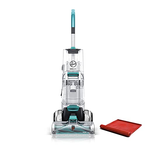 Hoover, Turquoise Smartwash Automatic Carpet Cleaner Machine, with Storage Mat, FH52050