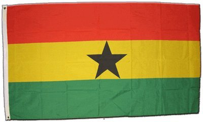 XXL Flagge Fahne Ghana 150 x 250 cm