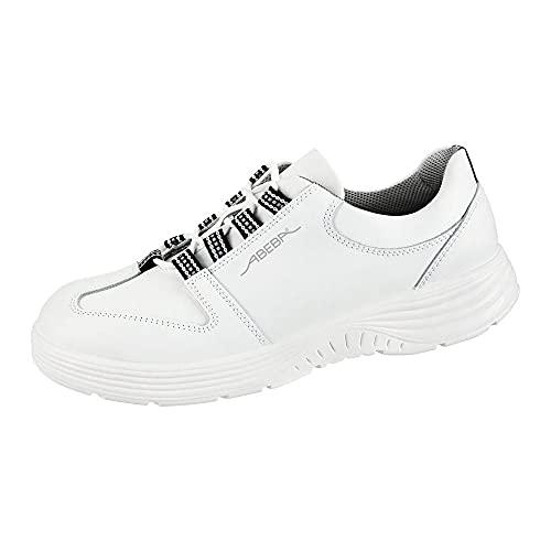 ABEBA 711033 X-LIGHT Niedriger Schuh, S2, SRC, Weiß, Größe 47