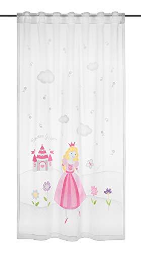 Clever-Kauf-24 Fertigschal Prinzessin | BxH 140x245cm | mit verdeckten Schlaufen | fürs Kinderzimmer |