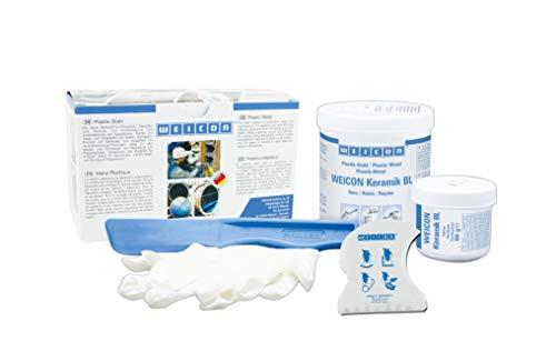 WEICON Epoxy Resin Plastic Steel Ceramic BL 500 g para reparación y protección contra el desgaste