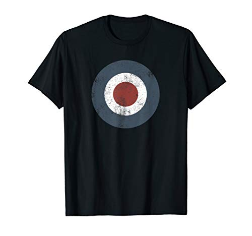 Mod Target Bullseye UK RAF Roundel Target Geschenk T-Shirt