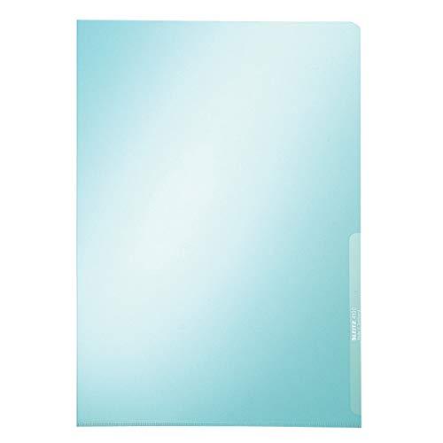 LEITZ 41000235 - Dossiers uñero PVC rígido DIN A4 (caja 100 ud.) color azul 🔥