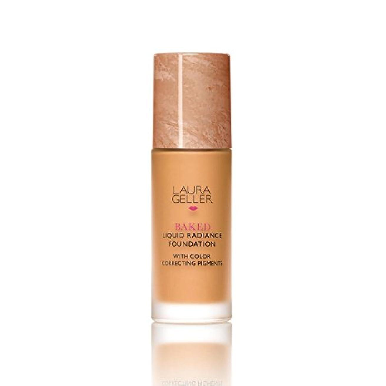 意見ガス義務ローラ?ゲラーニューヨーク焼いた液体放射輝度基盤日焼け x2 - Laura Geller New York Baked Liquid Radiance Foundation Tan (Pack of 2) [並行輸入品]