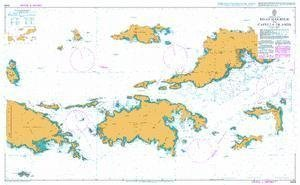 United Kingdom Hydrographic Office BA Chart 2005: Virgin Islands, Road Harbour to Capella Islands by