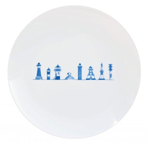 CUP+MUG Porzellanteller 20cm, Leuchtturm