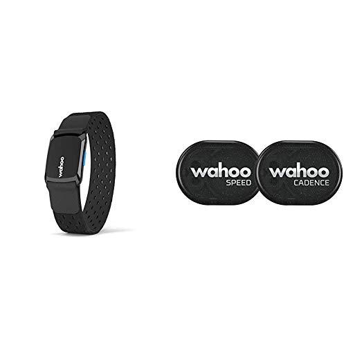 Wahoo TICKR FIT Herzfrequenz Armband, Bluetooth/ANT+ & RPM Geschwindigkeits- und Trittfrequenzsensor, Bluetooth/ANT+