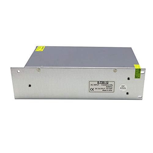 8Eninise Fuente de alimentación conmutada Dc12V 100W 120W 150W 240W 360W 500W 600W 800W 1000W Blanco 12V (720W)