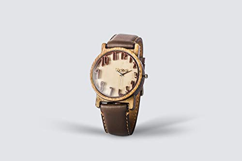 Relojes De Mano De Madera  marca Eclock Relojes Personalizados de Madera
