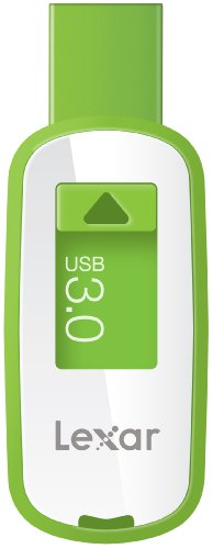 Lexar JumpDrive S25 32GB USB 3.0 Flash Drive - LJDS25-32GABNL (Green)