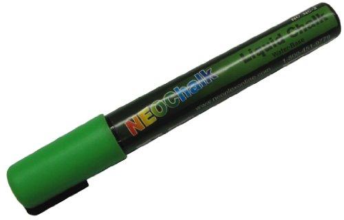 NeoChalk Liquid Chalk Marker Chisel Tip - Green