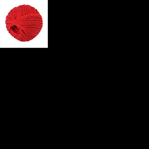 LLAAIT 100m Leinenrolle Natur Jute Schnur Cord Hanf Seil Geschenkverpackung Strings Event Party Supplies Hochzeit nach Hause DIY Dekor Handwerk A301017, I, China