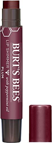 Burt's Bees 00% Natural Moisturizing Lip Shimmer, Tube Plum 1 Count