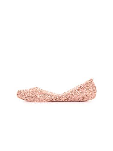 melissa Campana Papel 20, Scarpe col Tacco Punta Chiusa Donna, Glitter Rosa Rosa 52326, 39 EU