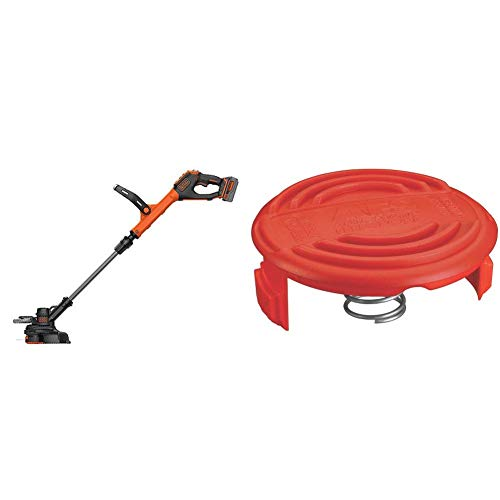 Best Review Of BLACK+DECKER 20V MAX String Trimmer with Trimmer Line Cap and Spring for AFS Trimmer ...
