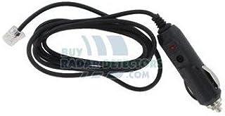 Straight Power Cord for Beltronics/Escort / V1 Radar Detectors