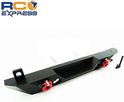 Hot Racing SCX03WRA01 Aluminum Rear Bumper with Light Mounts (Toy) -