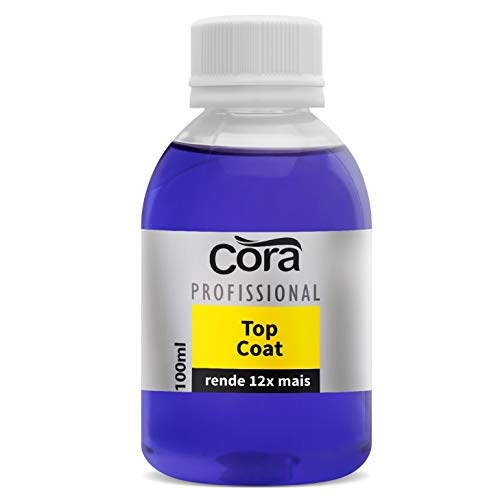 Base para unhas Top Coat Cora 100ml
