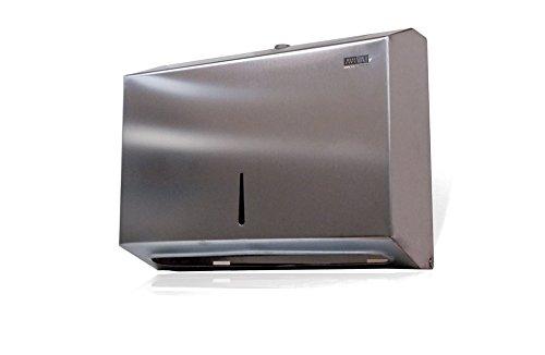 Aviva Clean 205400dispensador de toallas de papel, acero inoxidable (250unidades)