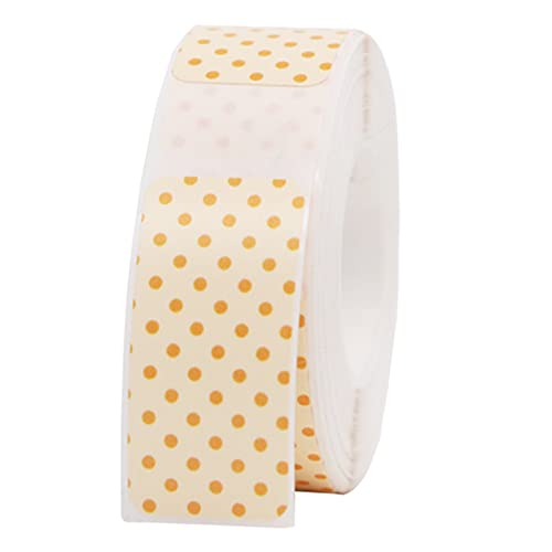 Bisofice Etiquetas a prueba de agua 1,2x0,6 pulgadas etiquetas autoadhesivas etiquetas adhesivas que admiten impresión térmica para etiquetas de precio Suministros de oficina Tiendas de ropa Cables