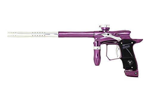 Dangerous Power G5 Spec-R Paintball Gun with OLED Board - Pulsar (Polished Purple/Silver), Pulsar Purple
