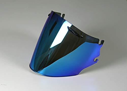 Motodak Ecran ARAI Super Adsis MZ irridium Bleu pour Casque Jet