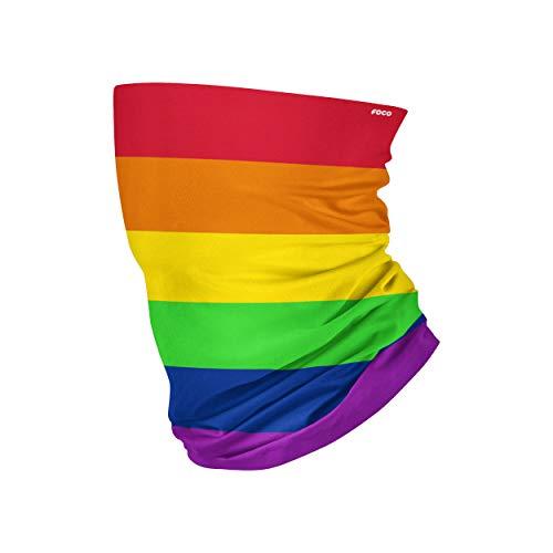 FOCO - Polaina para cuello con estampado de unisex, multicolor