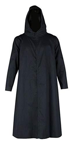 CHIUS Cosplay Costume Black Ops Hooded Cloak for Hatake Kakashi Anbu Version 2