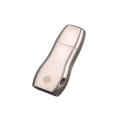 Unidad flash USB USB 3.0 unidad flash USB 32 GB U disco Pen Drives unidad flash portátil Cifrado de huellas dactilares para negocios Memoria USB de alta velocidad (tamaño: 32 GB; Color: Color de foto)