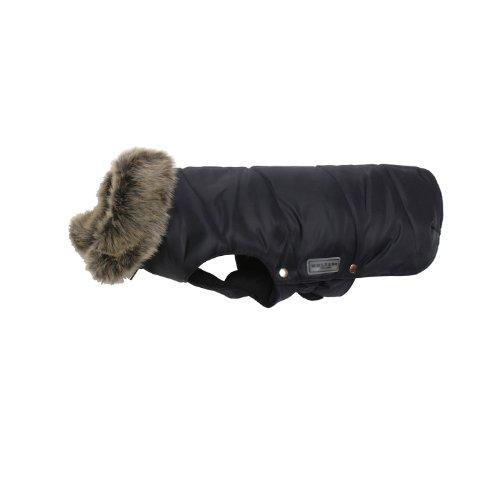 Wolters Cat&Dog 49007 Parka mit Fellkragen 28 cm, schwarz