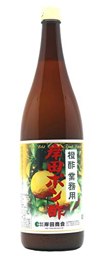 岸田ぽん酢 橙酢 業務用 1800ml