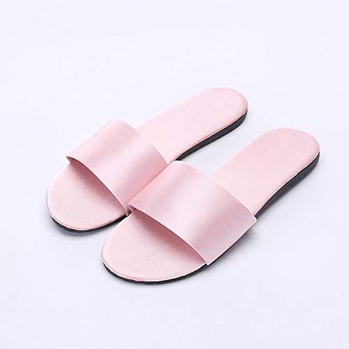 Flip Flop-GQ Zapatillas de Novia de Raso de Verano Zapatillas de Dama...