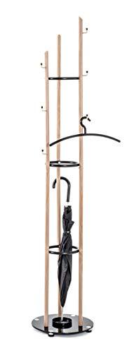 HAKU Möbel Garderobenständer, Stahlrohr, Ø 35 x 183 cm