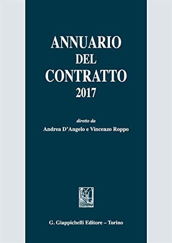 Annuario del contratto 2017