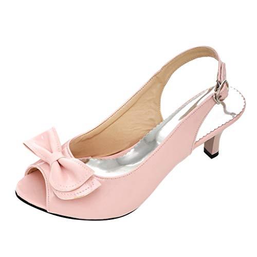 Damen Sommer Sandalen High Heels Gürtelschnalle Sandalen Damen Sommerschuhe