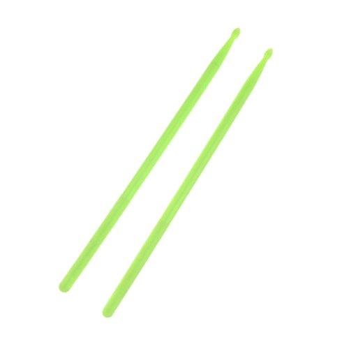 1 Par Martillo de Tambor con Manga Panelado Percusión Melódica de Orquesta - Verde, como se describe