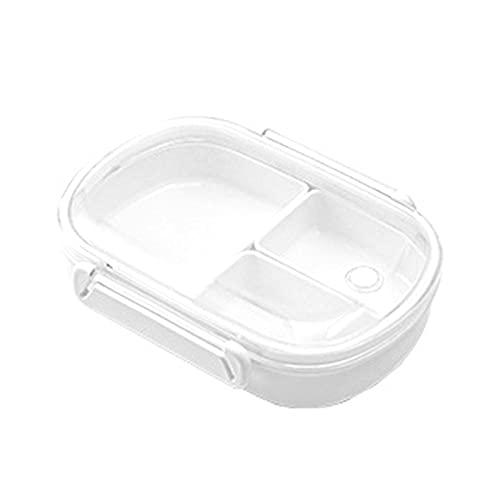 Cyhamse Bentobox - Fiambrera con compartimentos, para microondas, para guardería, escuela, trabajo, picnic y viajes
