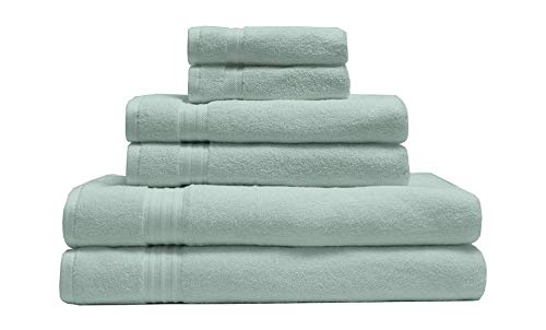Elite Home Products 100% Organic Cotton Towel...