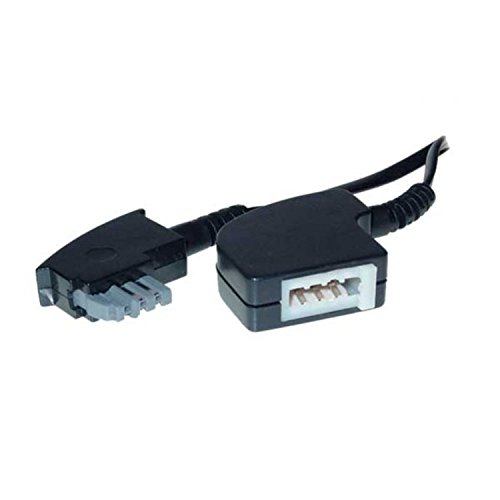 Tae digitai cable Tae-f conector /> Western conector 6p4c 3 M Blanco