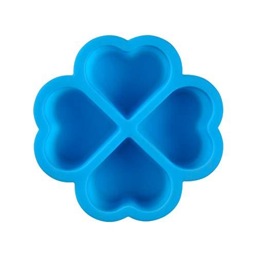 Otherway - Molde de silicona para repostería, diseño de corazón