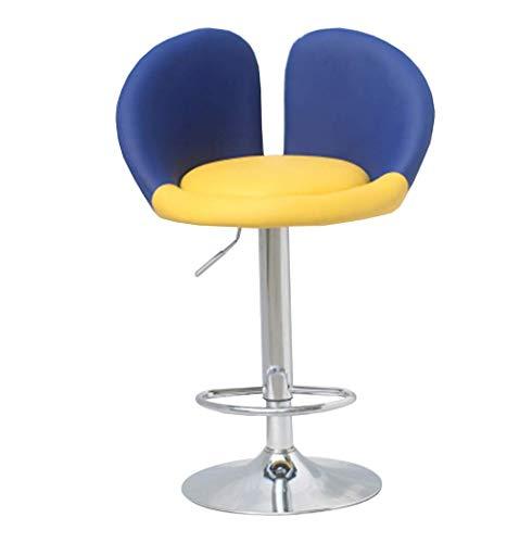 HYLH Barhocker Home Barhocker, Continental Barhocker Kreativität Barstühle Aufzug Drehbare Rückenlehne Stuhl Höhenverstellbar Mit Armlehnen Hocker (Farbe: # 4)