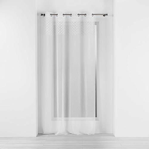 Douceur d'Intérieur Vorhang, Weiß, 140 x 240 cm