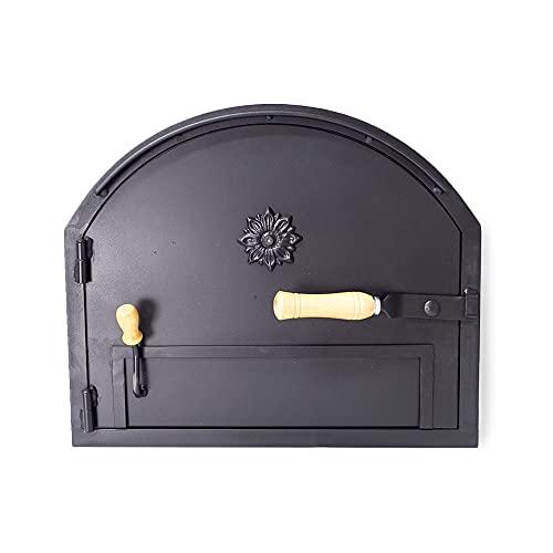 hornosdeleña Puerta de Hierro para Apertura Izquierda (Sistema Anti-Humos)