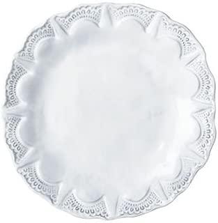 Vietri INC-1101D Incanto Lace Salad Plate, White