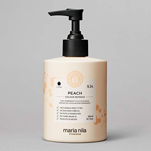 Maria Nila Colour Refresh - Peach 300ml | Eine revolutionäre Farbmaske für blondes und hellbraunes Haar