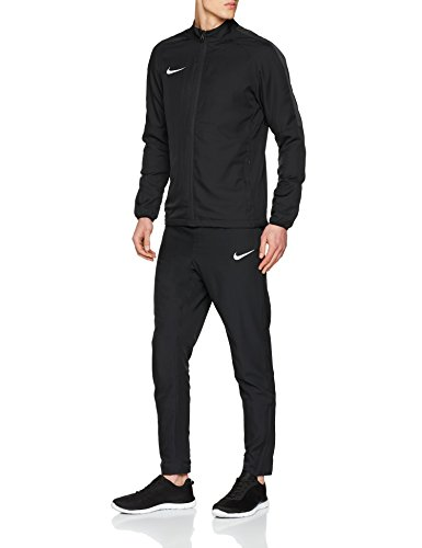Nike Track Academy 18, Tuta Uomo, Nero/Antracite/Bianco, L