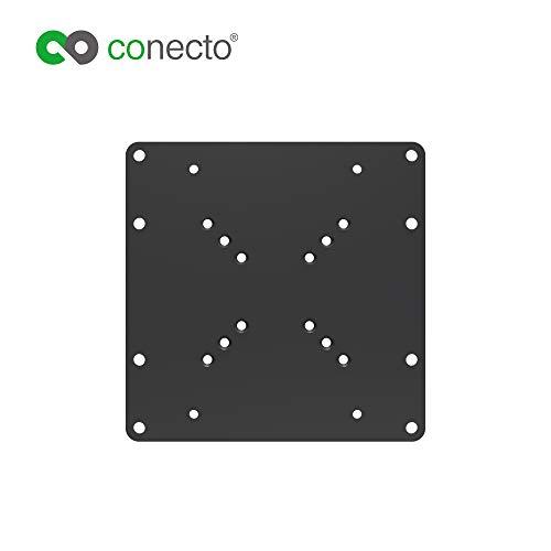 conecto CC50305 Universeller VESA Adpapter VESA 50x50 bis 200x200, 1-teilig, schwarz