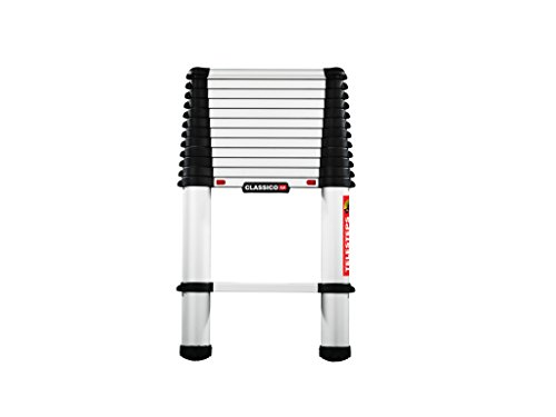Telesteps 60238-501 Classico Line 3.8 Lean-to-Ladder, Silber