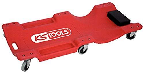 KS TOOLS 500.8090 - Chariot de Visite Ergonomique - Rouge