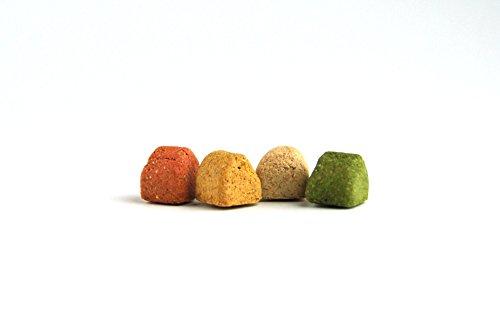Gourmet Happen, 500 g zak, bakwaren als gezonde, natuurlijke voeding voor honden van DIBO, hondenvoer, BARF, B.A.R.F, Leckerli, hondenkoekjes
